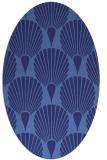 rug #426659 | oval retro rug