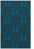 rug #426805 |  blue-green retro rug