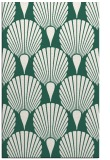 rug #426861    green retro rug