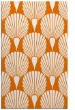 rug #426921 |  orange graphic rug