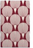rug #426941 |  pink retro rug