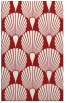 rug #426977 |  red retro rug