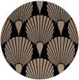 rug #427093 | round beige rug