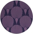 rug #427177 | round purple graphic rug