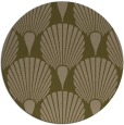 rug #427201   round brown retro rug