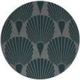 rug #427209 | round green graphic rug