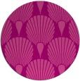 rug #427289 | round pink retro rug
