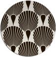 rug #427377 | round brown popular rug