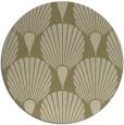 rug #427416 | round retro rug