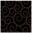 rug #427801 | square brown circles rug