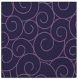 rug #427881 | square purple circles rug