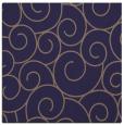 rug #427893   square blue-violet circles rug
