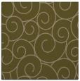 rug #427905 | square brown circles rug