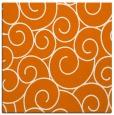 rug #427977 | square orange circles rug