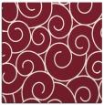 rug #427997 | square pink circles rug
