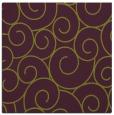 rug #428013 | square purple circles rug