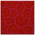 rug #428037 | square red circles rug