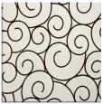 rug #428081 | square brown circles rug