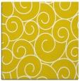 rug #428085 | square yellow rug