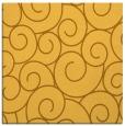 rug #428089 | square light-orange circles rug
