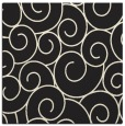 rug #428093 | square black circles rug