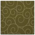 rug #428117 | square light-green circles rug