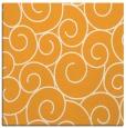 rug #428133 | square light-orange circles rug