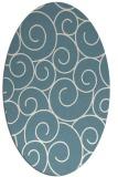 rug #428162 | oval circles rug