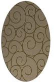 rug #428258   oval circles rug