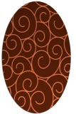 rug #428338   oval circles rug