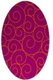 rug #428403 | oval circles rug