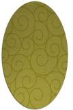 rug #428460 | oval circles rug