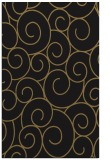 rug #428509 |  brown circles rug