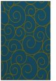 rug #428549    green circles rug
