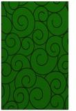 rug #428557    green circles rug