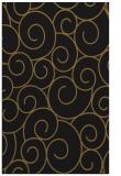 rug #428605 |  mid-brown circles rug