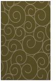 rug #428609 |  mid-brown circles rug