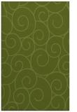 rug #428613 |  green circles rug