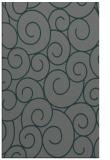 rug #428617 |  green circles rug