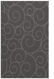 rug #428637 |  brown circles rug