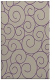 rug #428669 |  purple circles rug