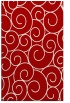 rug #428729    red circles rug