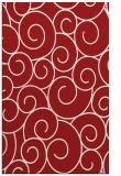 rug #428737    red circles rug