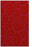 rug #428741 |  red circles rug