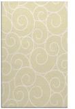 rug #428781    yellow circles rug