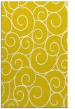 rug #428789 |  yellow rug