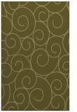 rug #428821 |  light-green circles rug