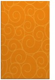 rug #428833 |  light-orange circles rug