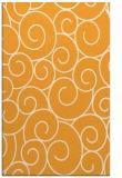 rug #428837 |  light-orange circles rug