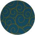 rug #428901 | round green circles rug